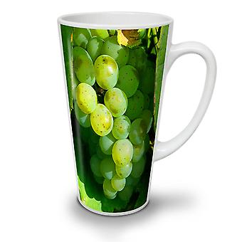 Grapes Wine Photo Food NEW White Tea Coffee Ceramic Latte Mug 12 oz | Wellcoda