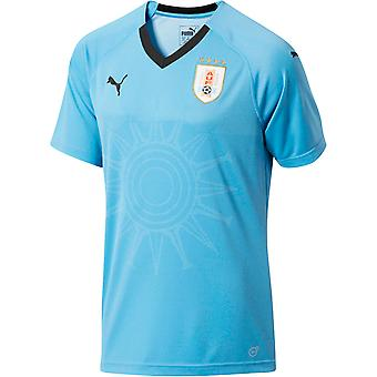 2018-2019 Uruguay Home Puma Football Shirt