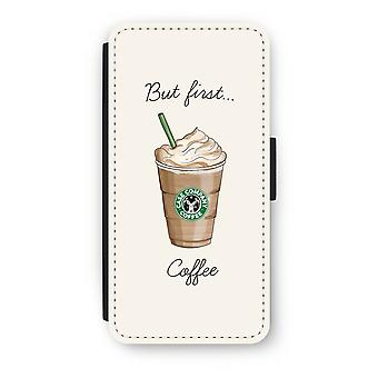 iPhone 6/6 s Plus Flip Case - mais d'abord café
