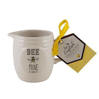 Englisch Geschirr Co. Biene glücklich Creamer