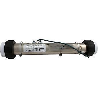 "Hydro-Quip 48-1540-HS 2""x15"" 4.0kW Universal Flo Thru Heater Assembly w/ Union"