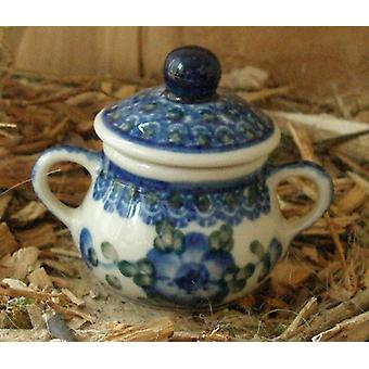 Sugar Bowl, miniature, tradition 9, Bunzlauer pottery - BSN 5856