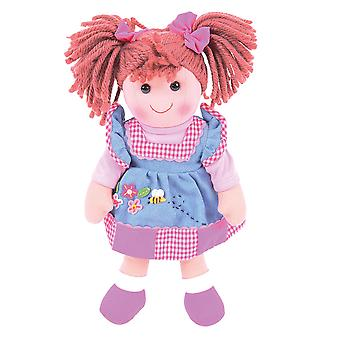 Bigjigs Toys Soft Plush Melody (34cm) Rag Doll Cuddly Toy