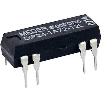 StandexMeder Electronics DIP24-1A72-12L Reed relay 1 maker 24 V DC 0.5 A 10 W DIP 8