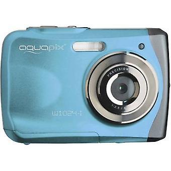 Easypix W1024-I splash digitale camera 16 MP blauwe onderwatercamera