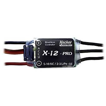 Model aircraft brushless motor controller Hacker X-12-Pro BEC