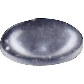TOOLCRAFT PD2006C pied circulaire, autocollant Transparent (Ø x H) 6,4 x 1,9 mm 1 PC (s)