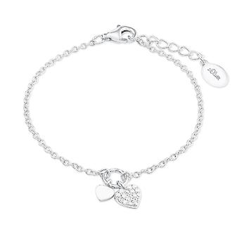s.Oliver jewel children and adolescents bracelet silver heart 2022701