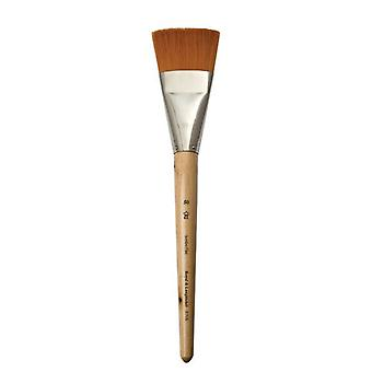 Royal & Langnickel Gold Taklon Jumbo R705 Flat Brush Size 50