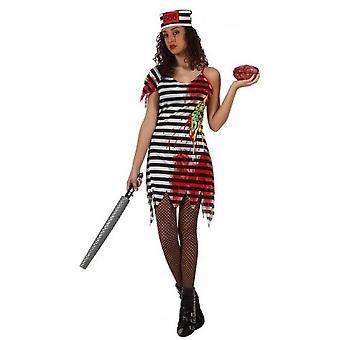 Frauen Kostüme Zombie Gefangener Kostüm für Frauen