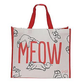 Puckator Simon's Cat MEOW Shopping Bag