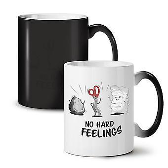 Rock Game Crazy NEW Black Colour Changing Tea Coffee Ceramic Mug 11 oz | Wellcoda