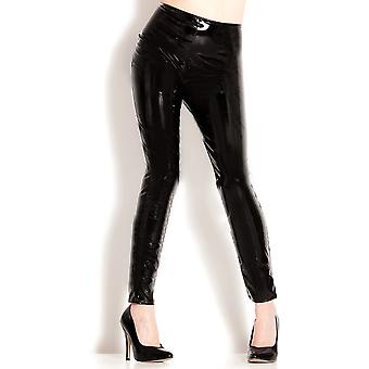 Honour Women's Sexy Skin Tight Leggings in PVC High Quality Stitching