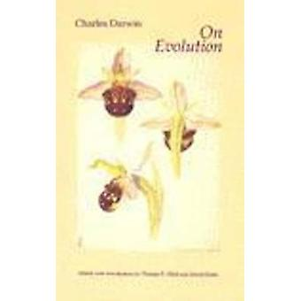 On Evolution - The Development of the Theory of Natural Selection by C