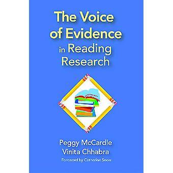 La voix de la preuve en lisant recherche par Peggy D. McCardle - Vini