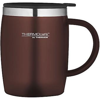 Thermos Paprika 450ml ThermoCafe Soft Touch Desk Mug