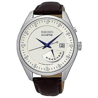 セイコー メンズ SRN071P1 革ストラップのアナログ時計
