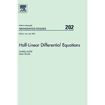 HalfLinear differentialekvationer av Doly & Ondrej