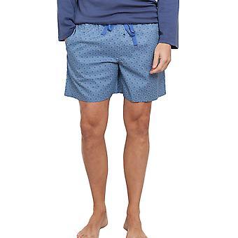 Cyberjammies 6297 mannen Finn blauwe pyjama pyjama's Top