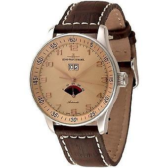 Zeno-watch mens watch X-large retro power reserve P590-g6
