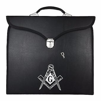 Masonic Regalia MM/WM Square Compass G Case II [Multiple Colors]