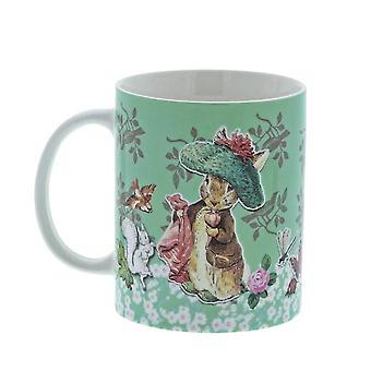Beatrix Potter Benjamin Bunny une tasse de café