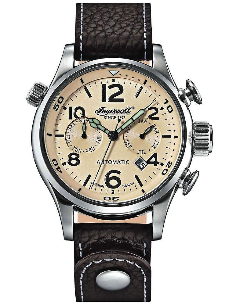 Ingersoll In1809ch Bull-Run automatic mens watch 46mm