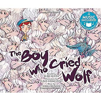 The Boy Who Cried Wolf by Blake Hoena - 9781684101856 Book