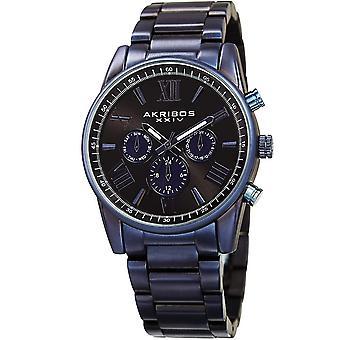 Akribos XXIV orologio da polso svizzero al quarzo multifunzionale da uomo AK912BU