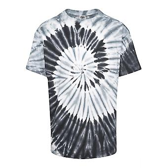 Urban Classics Men's T-Shirt Spiral Tie Dye Pocket