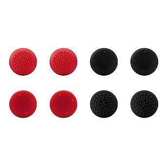 Speedlink STIX Pro Controller Cap Set 8 Analogue Stick Attachments - Black/Red