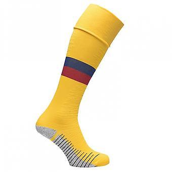 2019-2020 Barcelona Nike Away Socks (Yellow)