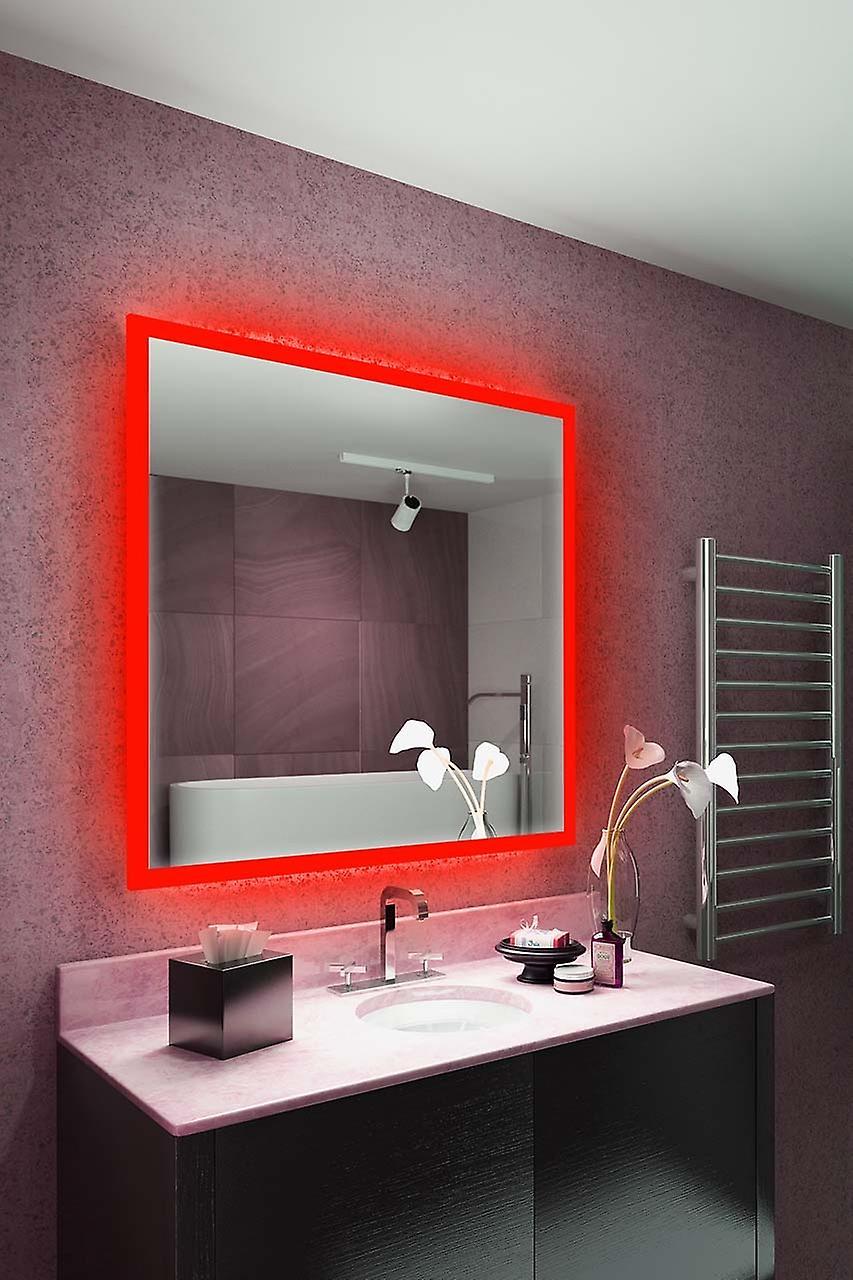 RGB Audio Shaver Mirror with Bluetooth, Demist, Sensor k843irgbaud