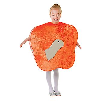 Bristol Novelty Childrens/Kids Giant Peach And Worm Costume