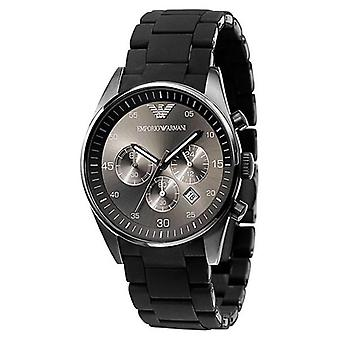 Armani Ar5889 - Mens Sports Chronograph Silicone Accent Watch