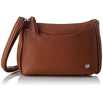 Tom Tailor Denim Cilia Women's Brown Shoulder Bags (Cognac) 4x14x21 cm (B x H x T)