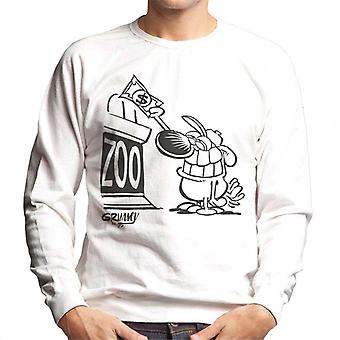 Grimmy Trip To The Zoo Men's Sweatshirt