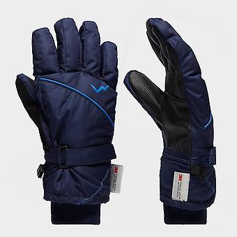 New Peter Storm Kids' Ski Gloves Snowsports Navy