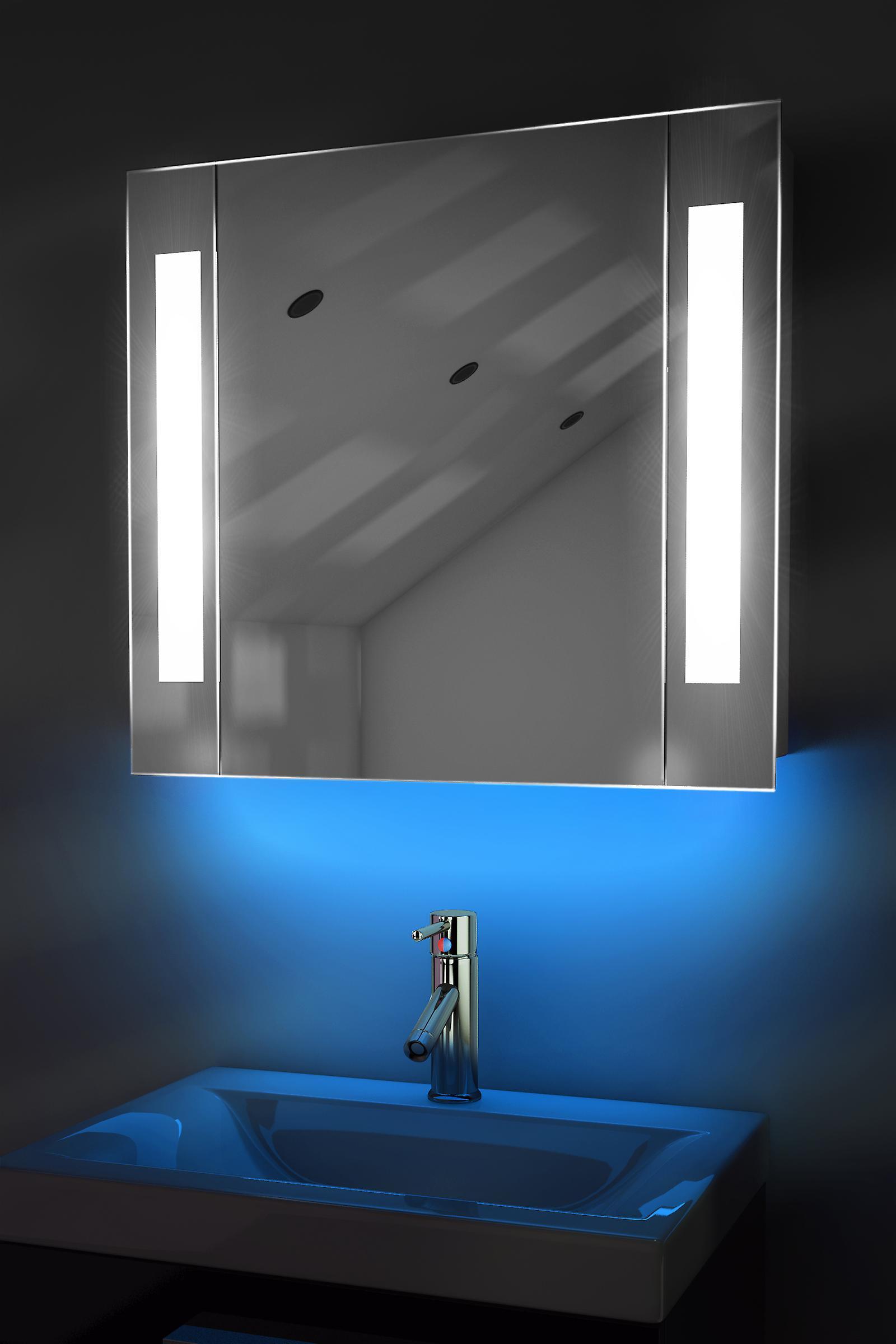 Auto Colour Changing Demist Cabinet With Shaver & Sensor K64Rgb