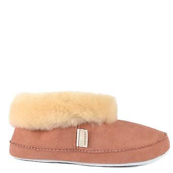 Shepherd of Sweden Emmy Marsala Sheepskin Slipper Boot