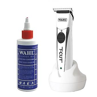 Wahl Clipper Oil 4oz and Wahl T-Cut Trimmer