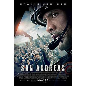 San Andreas Original Movie Poster Double Sided Regular