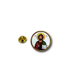 Kiefer PineS Pin Abzeichen Pin-Apos;s Metall Broche Pince Papillon Flagge Jesus Chretien Christus