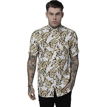 Sik Silk Resort Short Sleeve Shirt White/Venetian 86