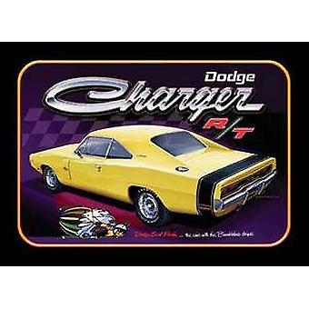 Dodge Charger steel wall sign 425mm x 300mm (sf)