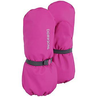 Didriksons Kids Pileglove 3 Waterproof Mittens | Plastic Pink