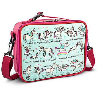 Tyrrell Katz Unicorns Design Kids Insulated Lunch Bag With Strap