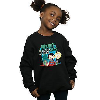 DC Comics Girls Super Amici Merry X-RayMas Sweatshirt