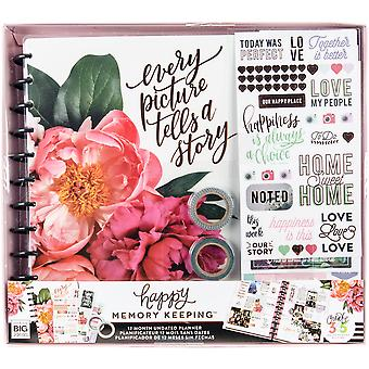 Happy Memory Keeping Undated 12-Month Big Planner Box Kit-Every Picture Tells A Story