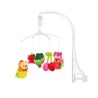 Chipolino Music Mobile Fruits for Cot, Running Stable, Music Turning Mechanism